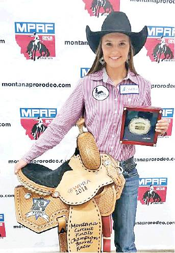 Lodge Grass Tara Stimpson Gains Pro Rodeo Barrel Racing