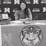 Hardin's Russell signs with Dickinson State