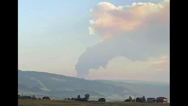 Heatwave causes fire in Big Horn Mountains